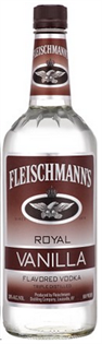 Fleischmann's Vodka Royal Vanilla 1.00l - Case of 12